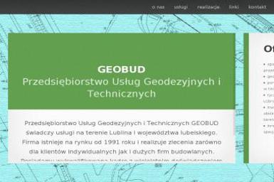 Przedsiębiorstwo Usług Geodezyjnych i Technicznych Geobud Henryk Prus Jan Stefanek - Geodeta Lublin