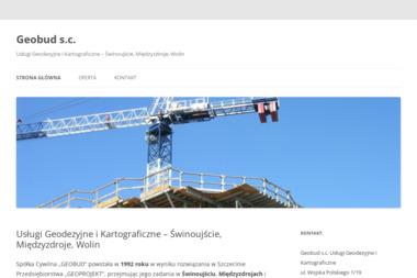 Usługi Geodezyjne i Kartograficzne Geobud S.C. Mirosław Skorupka, Krzysztof Kowalski - Firma Geodezyjna Świnoujście