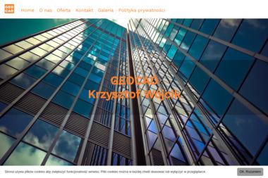 Geocad Krzysztof Wójcik. Geodeta uprawniony, mapy - Geodeta Ełk