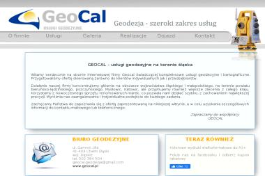 Geocal s.c. Geodezja, usługi geodezyjne - Geodeta Chełm Śląski