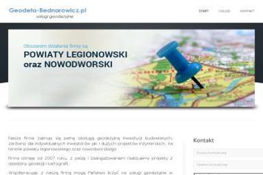 Geodeta Sławomir Bednarowicz - Geodezja Legionowo