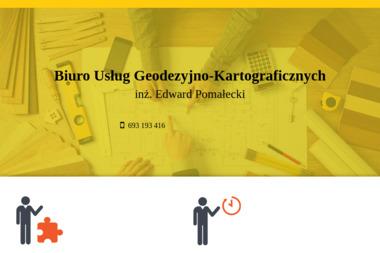Biuro Usług Geodezyjno-Kartograficznych inż. Edward Pomałecki - Geodeta Biskupiec