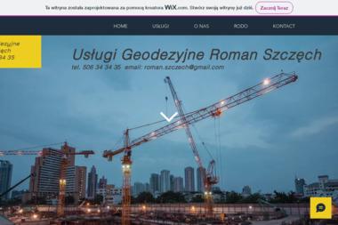 Usługi Geodezyjne Roman Szczęch - Usługi Budowlane Brzóza Królewska