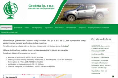 Geodeta Sp. z o.o. - Geodeta Gorzów Wielkopolski