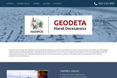 Firma Geodezyjna Hanpos-Marek Dereszewicz - Geodeta Gostyń