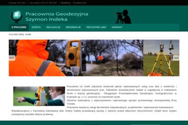 Pracownia Geodezyjna Szymon Indeka. Geodeta, geodezja - Geodeta Nowy Targ