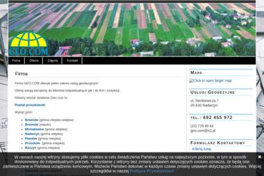 Geo.com Usługi Geodezyjne - Geodeta Nadarzyn