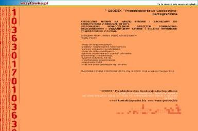 Przedsiębiorstwo Geodezyjno Kartograficzne Geodex - Geodeta Grójec