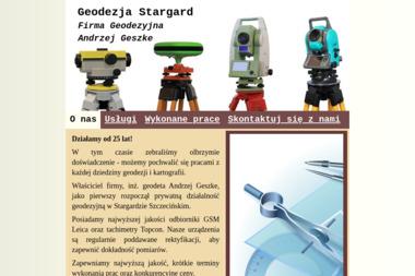 Firma Geodezyjna Andrzej Geszke - Geodeta Stargard