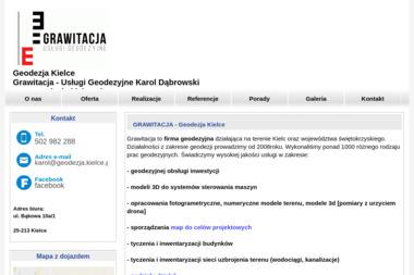 Grawitacja Usługi Geodezyjne i Kartograficzne Karol Dąbrowski - Usługi Geodezyjne Kielce