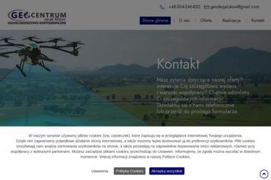 Geocentrum Usługi Geodezyjno-Projektowe. Jacek Misior - Geodezja Łuków