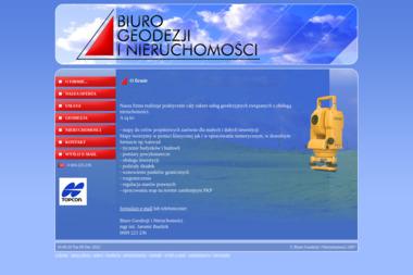 Biuro Geodezji i Nieruchomości - Geodeta Opole