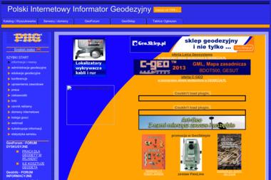 Usługi Geodezyjno Kartograficzne Mgr Inż Walczak Leszek - Geodeta Oborniki
