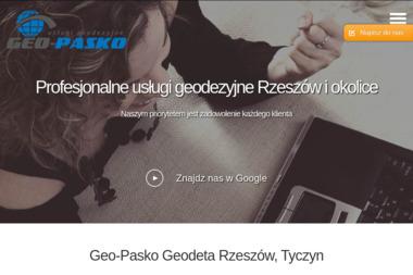 Geo-Pasko Usługi Geodezyjne - Ewidencja Gruntów Tyczyn