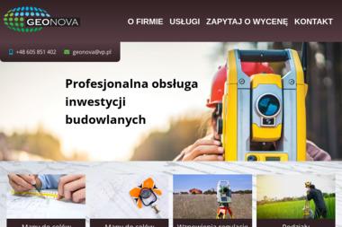 Geonova Usługi Geodezyjne Kamil Zaryczny. Geodezja, geodeci - Geodezja Sieradz