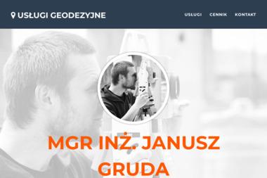 Janusz Gruda Usługi Geodezyjne. Pomiary geodezyjne, geodeta - Geodeta Skoczów