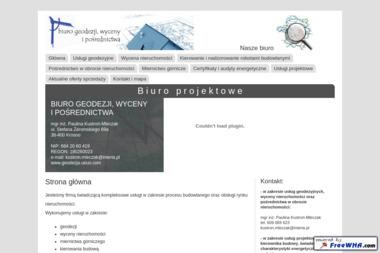 Biuro geodezji, wyceny i pośrednictwa mgr inż. Paulina Kustroń-Mleczak - Geodezja Krosno