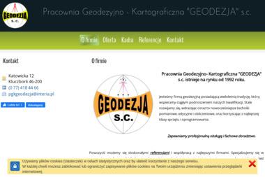 Pracownia Geodezyjno Kartograficzna Geodezja S.C. Konieczny Sendal Kurzawa - Geodeta Kluczbork