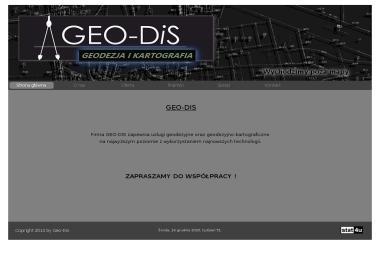 Geo-Dis Usługi Geodezyjno-Kartograficzne - Geodeta Namysłów