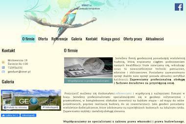 Usługi geodezyjno-kartograficzne, geodezja, Geodeuet s.c. - Geodeta Czaple