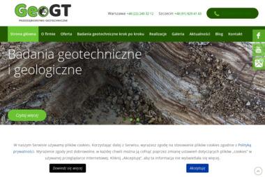 Przedsiębiorstwo Geotechniczne GeoGT. Geologia, geotechnika - Geolog Szczecin