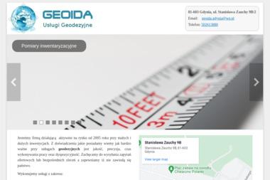 Geoida Łukasz Oleksiński. Usługi geodezyjne, geodeta - Usługi Geodezyjne Gdynia