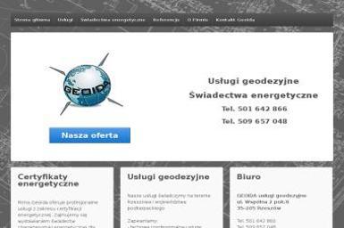 Geoida Usługi Geodezyjne - Geodezja Rzeszów