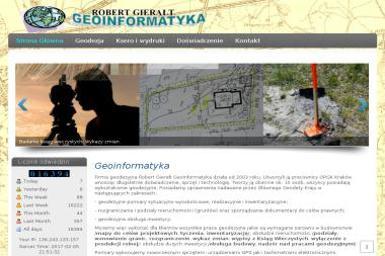Robert Gierałt Geoinformatyka - Usługi Geodezyjne Dębica