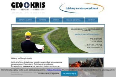 Usługi Geodezyjno Kartograficzne Geo-Kris - Geodeta Chojnice
