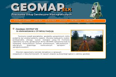Geomap s.c. Pracownia Usług Geodezyjno-Kartograficznych. - Geodeta Ełk