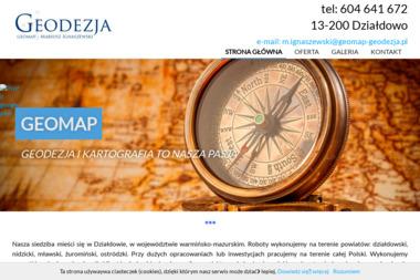Geomap Ignaszewski Mariusz Piotr - Ewidencja Gruntów Działdowo