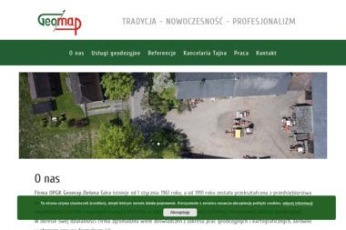 Okręgowe Przedsiębiorstwo Geodezyjno Kartograficzne Geomap Sp. z o.o. - Geodeta Zielona Góra