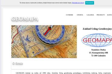 Geomapa.eu Usługi Geodezyjne-Pomiary GPS Maciej Mońko - Geodeta Lubień