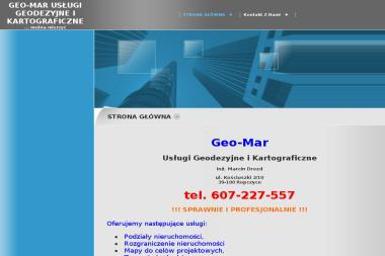 Geo-Mar Usługi Geodezyjne i Kartograficzne Marcin Drozd - Firma Geodezyjna Ropczyce