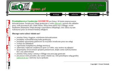 Przedsiębiorstwo Geodezyjne Geometr - Geodeta Elbląg