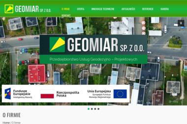 Przedsiębiorstwo Usług Geodezyjno Projektowych Geomiar Sp. z o.o. - Geodeta Jarosław