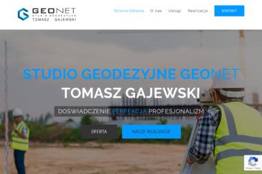 Studio Geodezyjne GEONET Tomasz Gajewski - Geodeta Pruszków