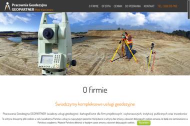 GeoPartner. Usługi geodezyjne - Geodeta Świdnik