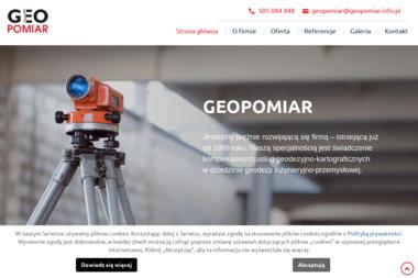 Geopomiar s.c. Usługi Geodezyjne E.Majka & A.Wójcik - Geodeta Będzin