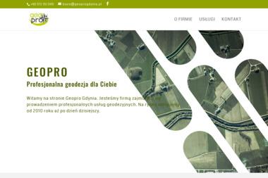 Usługi Geodezyjne Geopro - Geodeta Rumia