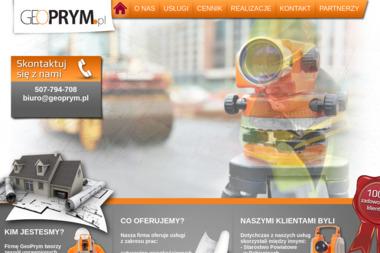 Geoprym. Usługi Geodezyjno-Kartograficzne - Usługi Geodezyjne Łódź