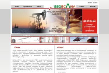 Geoscana Analizy Geofizyczne i Doradztwo Wacław Mężyk - Geodeta Gdańsk