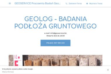 Geoservice Badania Geologiczne i Geotechniczne - Firma Geodezyjna Michałów Reginów