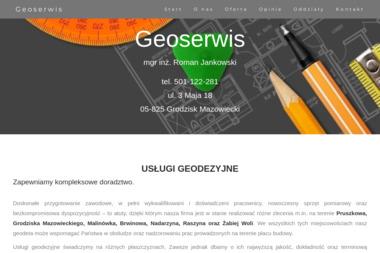 Geoserwis. Roman Jankowski - Geodeta Grodzisk Mazowiecki