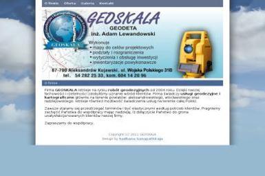Geodeta. Geoskala - Usługi geodezyjne i kartograficzne - Geodeta Aleksandrów Kujawski