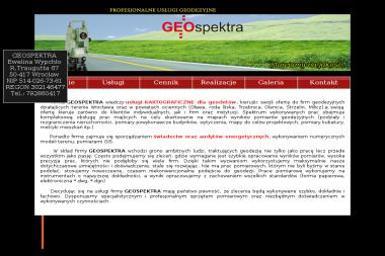 Geospektra Ewelina Wypchło. Geodezja, geodeta, usługi geodezyjne - Geodeta Mostki