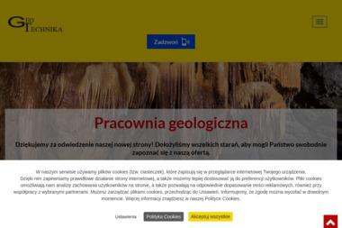 """Pracownia Geologiczna """"GEOTECHNIKA"""" - Architekt Zamość"""