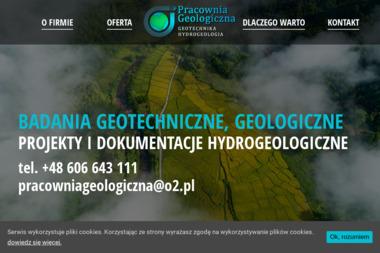 Pracownia Geologiczna. Badania gruntu, geolog, badania geotechniczne - Geolog Ciechanów