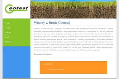 Geotest. Andrzej Swat - Ewidencja Gruntów Włocławek