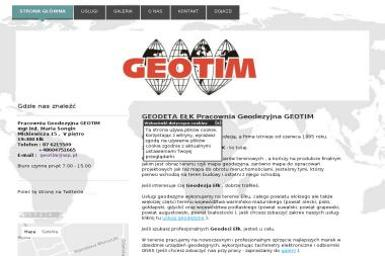 GEOTIM Maria Songin - Geodeta Ełk